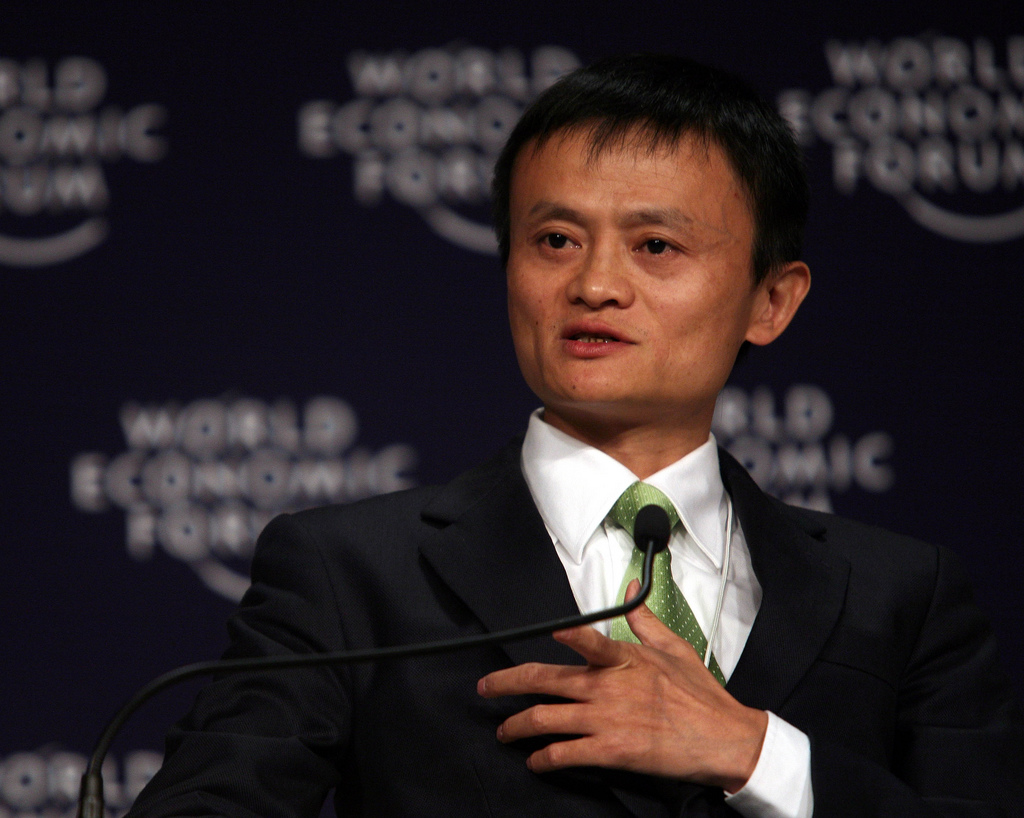Jack Ma, Founder and Chairman of Alibaba.